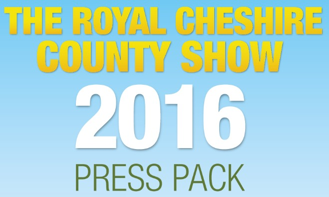 Royal Cheshire County Show press pack